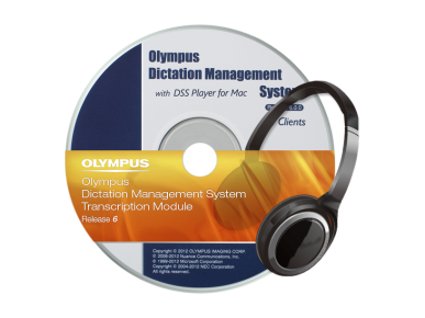 ODMS ‑ Módulo de transcripción, Olympus, Transcription Software