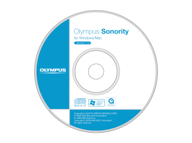 Sonority, Olympus, Software de dictáfono ; Software de audio , Audio Editing
